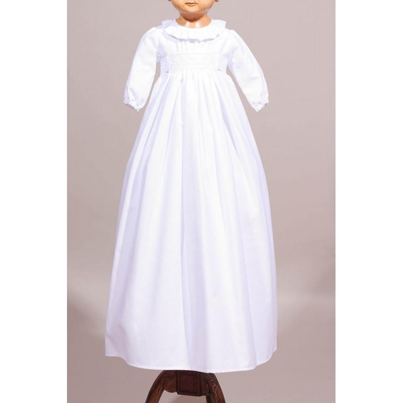 robe de bapt me longue en coton robe traditionnelle de. Black Bedroom Furniture Sets. Home Design Ideas