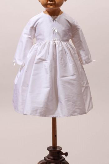 Robe de cérémonie en soie Diane Hiver