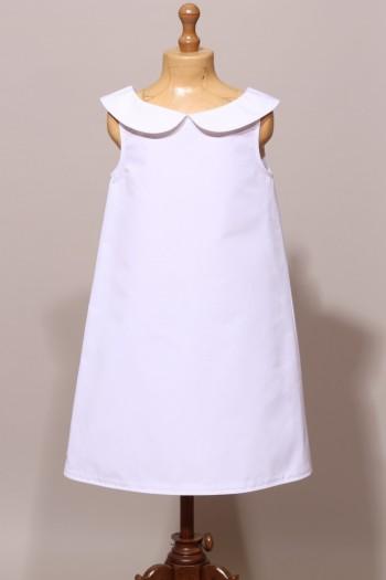 Robe de communion droite et simple