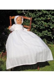 Robe traditionnelle de baptême Yseult
