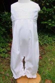 Barboteuse blanche de cérémonie Etienne