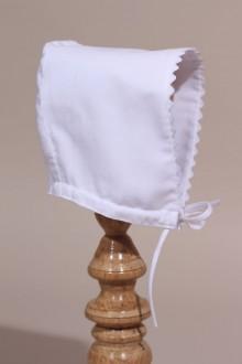 Bonnet de baptême bébé Mathilde