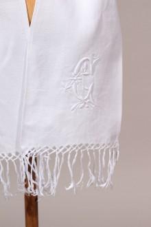 écharpe de Baptême ancienne
