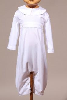 Tenue de cérémonie bébé blanche hiver Baptiste