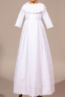 Robe de baptême traditionnelle fille Betty