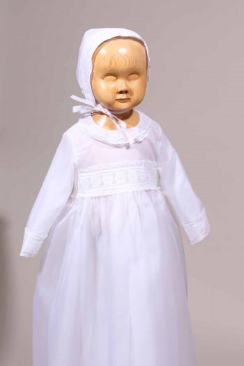robe en organza bébé