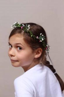 Couronne de fleurs enfant Perrine