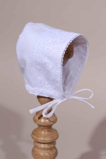 Bonnet blanc cérémonie