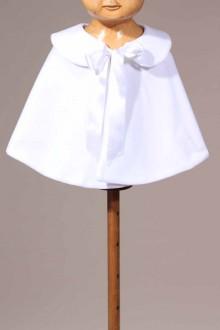 capeline blanche de cérémonie