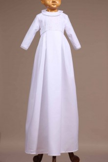 robe traditionnelle blanche bébé