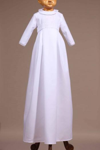 robe traditionnelle blanche bébé