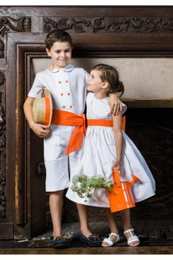 Robe de cortège mariage enfant