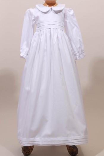 Robe longue de baptême traditionnelle classique pour bébé