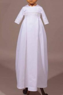 Robe et bonnet de Baptême traditionnelle Jérémie