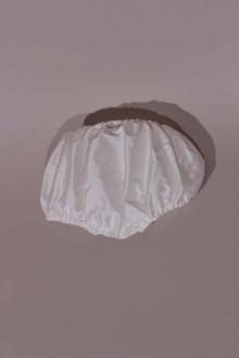 Culotte de Baptême bébé blanche en soie