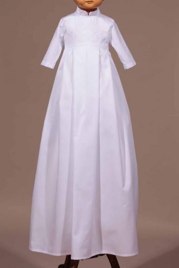 Robe bapteme traditionnelle