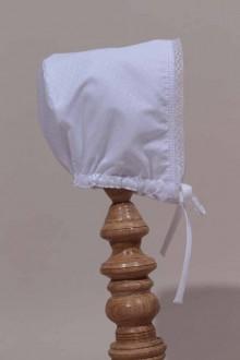 Bonnet blanc de cérémonie