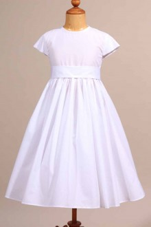 Robe blanche de communion Laurine