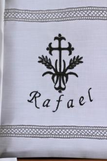 Echarpe personnalisable de Baptême Rafael