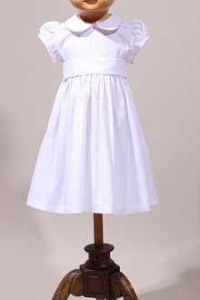 Robe blanche baptême