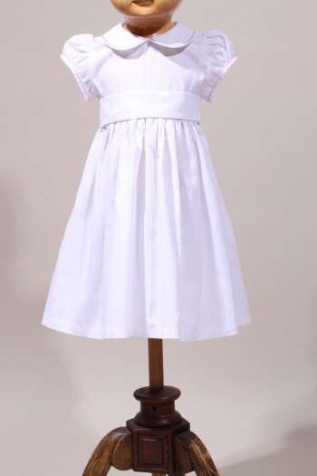 robe blanche bapt me b b place dauphine. Black Bedroom Furniture Sets. Home Design Ideas