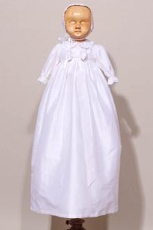 Robe traditionnelle de baptême en soie Maellys