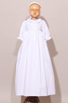 Robe de baptême traditionnelle dentelle ancienne Frédérique