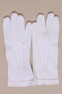 Gants blancs de luxe 3 nervures, cérémonie enfant