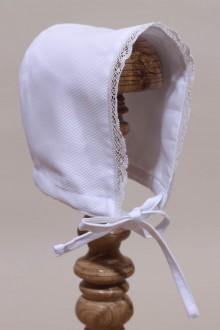 Béguin blanc bébé Cécilie
