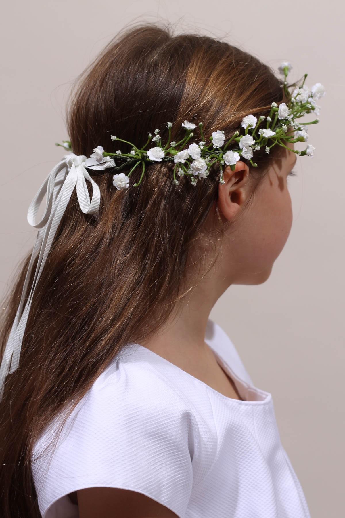 Couronne De Fleurs Communion Et Premiere Communion Place Dauphine
