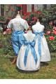 Cortège bleu et blanc