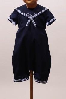 Costume petit marin bébé bleu marine