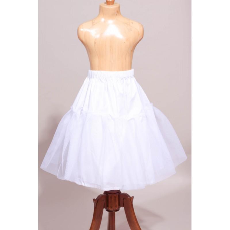 9620f014360 Jupon de robe de cérémonie fille. Loading zoom
