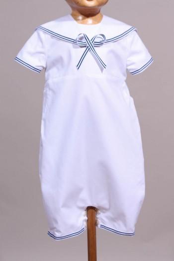 Tenue de baptême petit marin bébé Gaël