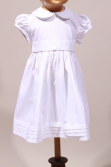 Robe de baptême chic pour fille made in France