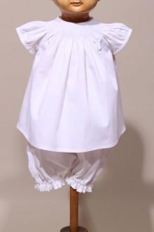 Ensemble blouse baptême