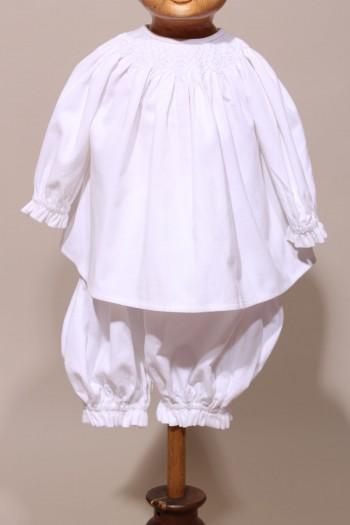 Ensemble Baptême blouse hiver