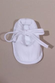 Chaussons de baptême fille