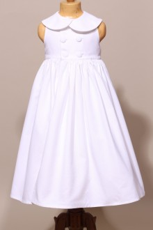 Robe de communion fille, robe de communion sans manches