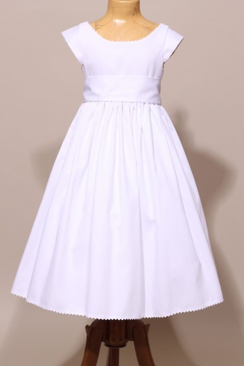 Robe de communion fille