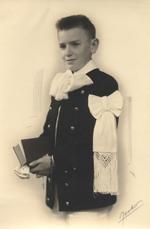 Brassard de communion souvenir de St François Xavier Vannes
