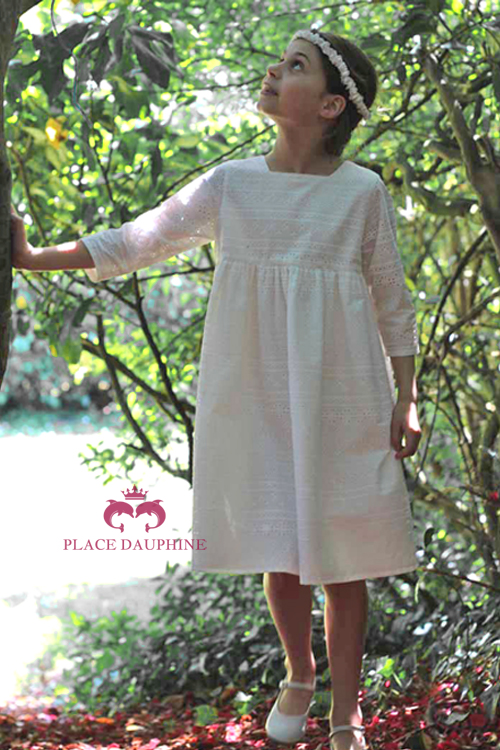 Robe de communion anglaise